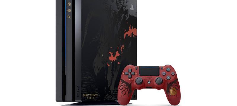 PS4 Pro в стиле Monster Hunter: World можно будет купить в Европе