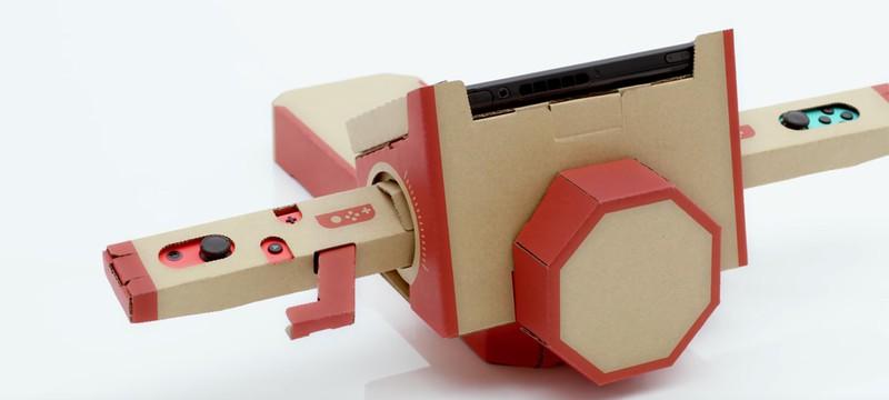 Nintendo Labo для Switch позволяет создавать из картона все, что угодно