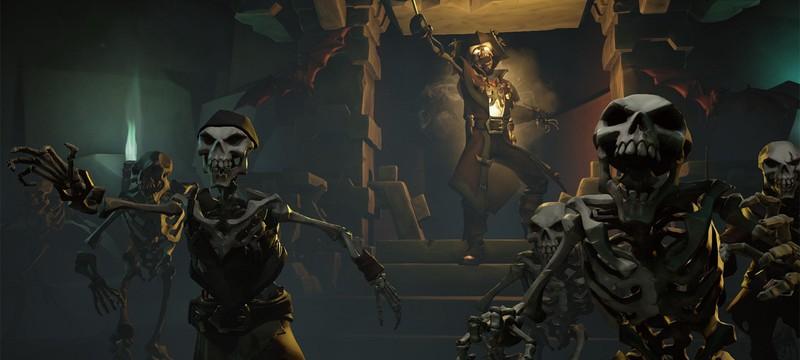 Как у скелетов Sea of Thieves появились уши