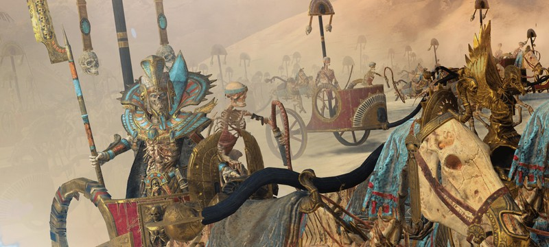 Новые трейлеры дополнения Rise of the Tomb Kings для Total War: Warhammer 2