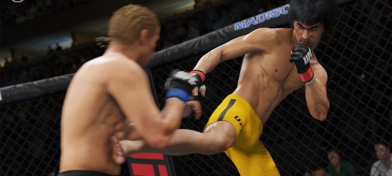 Обладатели EA Sports UFC 2 получат Bruce Lee в подарок