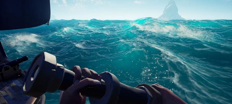 Геймеры уплыли за карту беты Sea of Thieves и почти утонули
