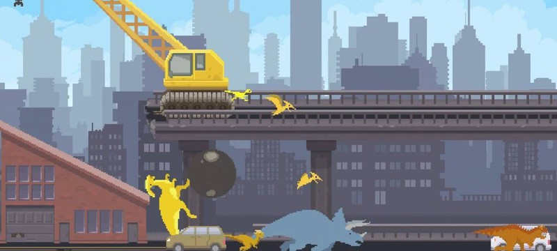 The Dino Run 2 — гонки с динозаврами