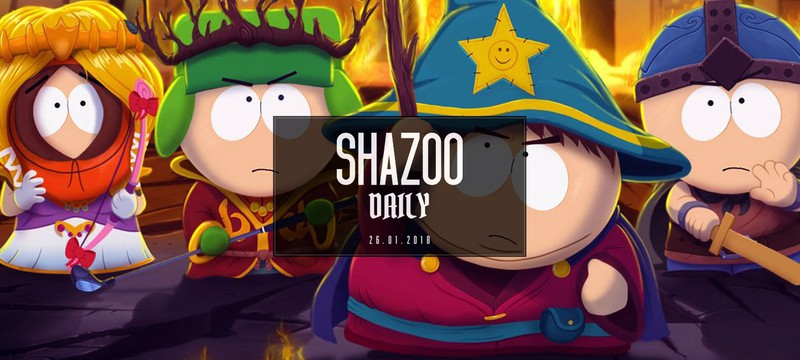 Shazoo Daily: первая палка в новом году