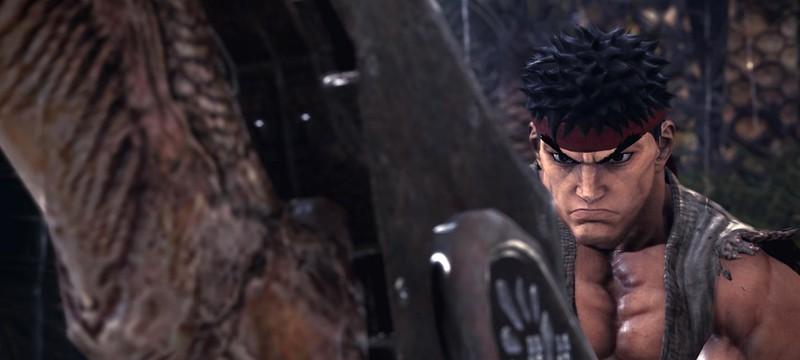В Monster Hunter: World появятся персонажи из Street Fighter V