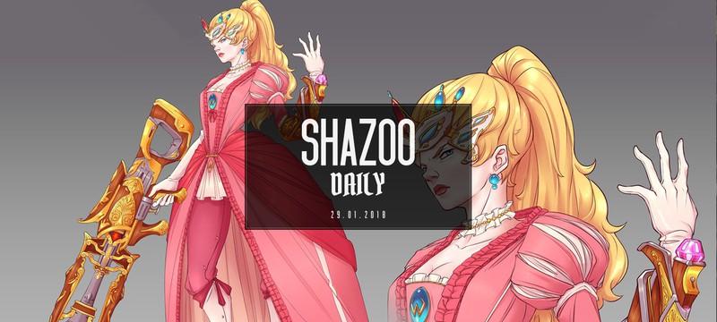 Shazoo Daily: После выстрела из пушки