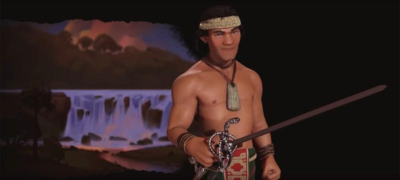 Лаутаро — лидер народа мапуче в Civilization VI: Rise and Fall