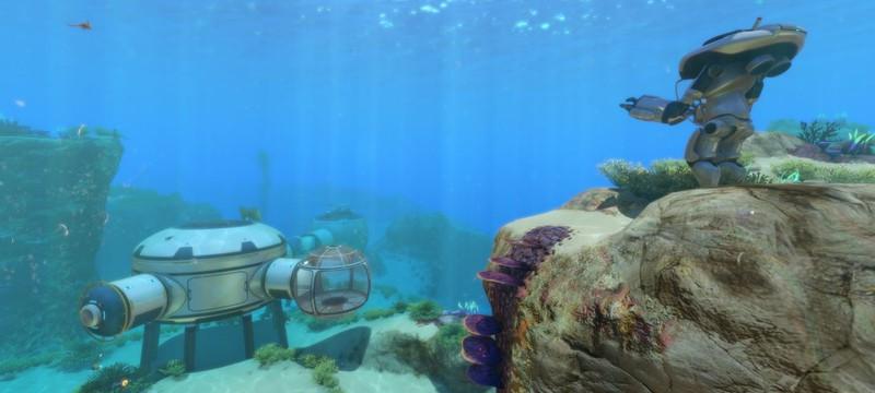 Разработчики Subnautica спрятали в игре первый набросок