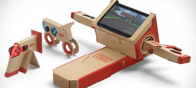 Nintendo Labo позволит управлять собственными роботами