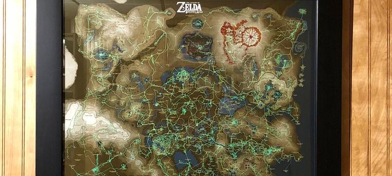 Геймер превратил свое прохождение  Zelda: Breath of the Wild в картину