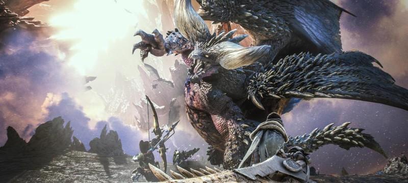 Monster Hunter: World на вершине британского чарта продаж