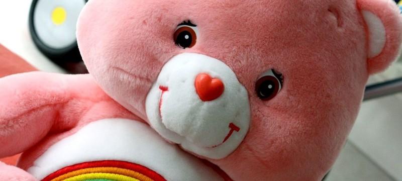 Розовый плюшевый мишка в Fortnite на день святого Валентина