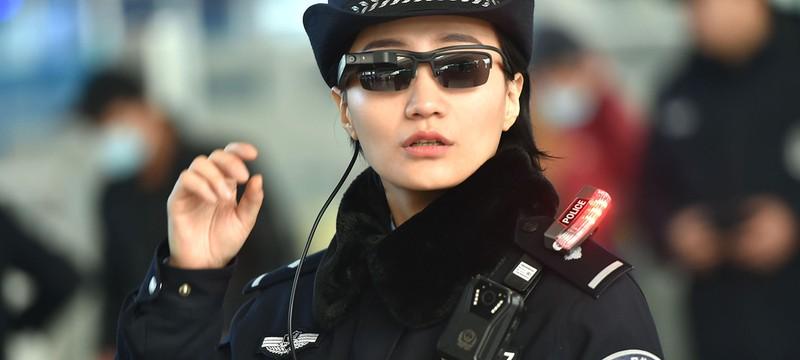 Китайская полиция начала использовать очки, распознающие лица граждан