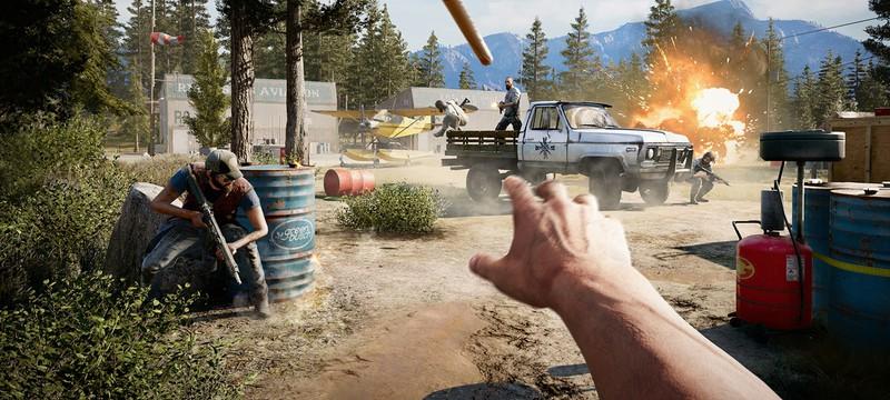 Атака на аванпост в трейлере Far Cry 5