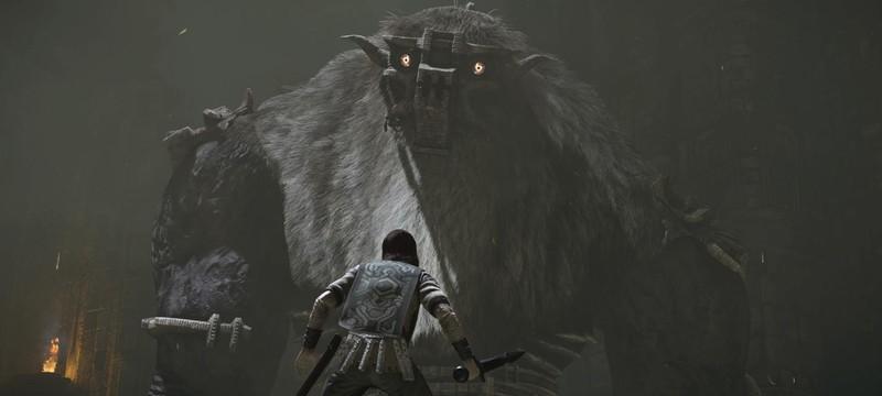 Ремейк Shadow of the Colossus покорил британский чарт продаж
