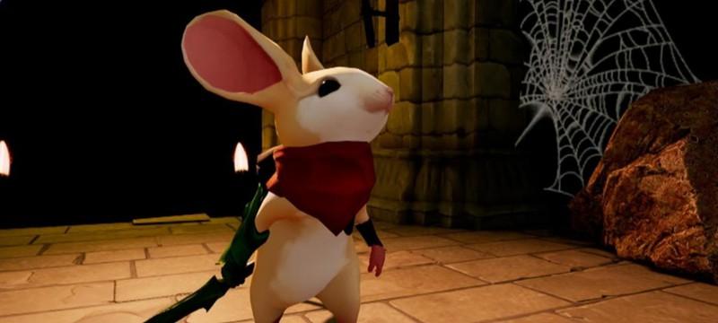 14 минут геймплея VR-платформера Moss про мышонка