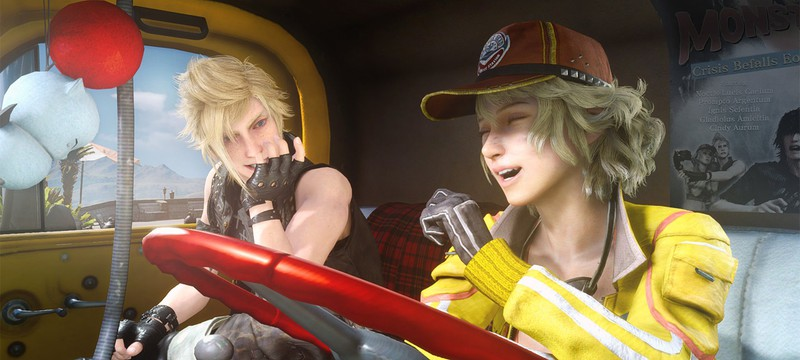 Милые поздравления с днем святого Валентина от Final Fantasy XV