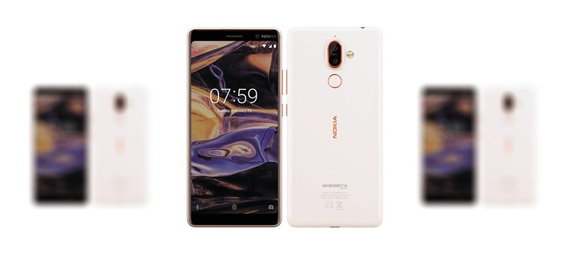 Утечка дизайна Nokia 7 Plus и Nokia 1