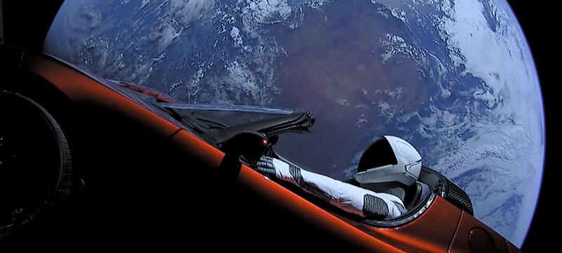 На этом сайте можно отслеживать позицию космического родстера Илона Маска