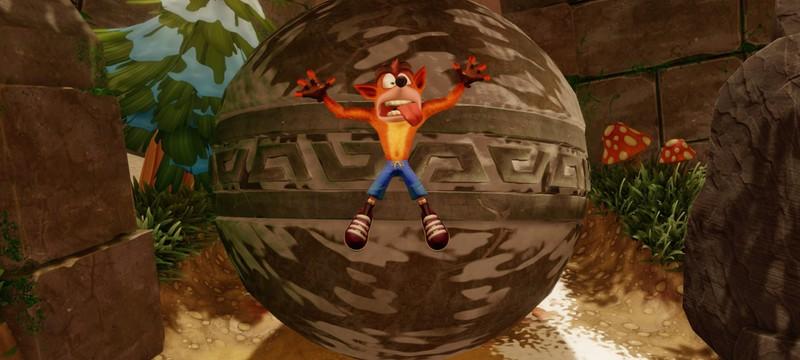 Crash Bandicoot N. Sane Trilogy для Nintendo Switch засветилась у ритейлера
