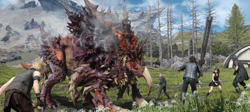 Первый взгляд на режим от первого лица в Final Fantasy XV