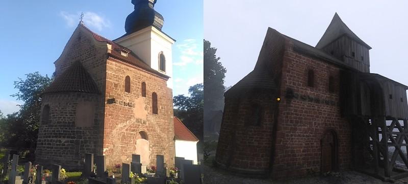 Сравнение реальных мест Чехии и локаций Kingdom Come: Deliverance