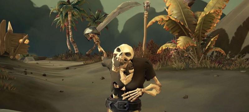Новый дневник разработчиков Sea of Thieves — Форты скелетов