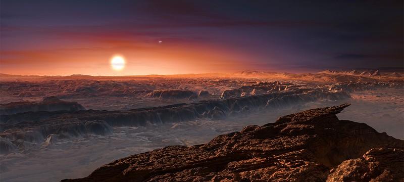 Гигантская вспышка могла убить надежды на жизнь в звездной системе Proxima Centauri