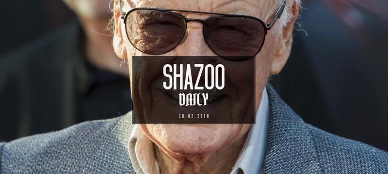 Shazoo Daily: здоровья Стэну Ли