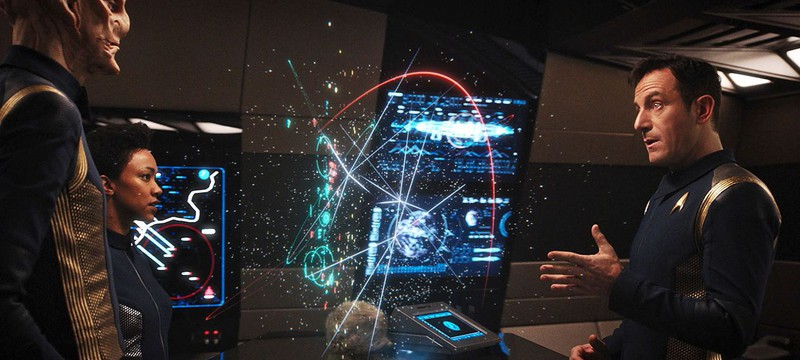 Star Trek: Discovery был бы другим в эфирном телевидении