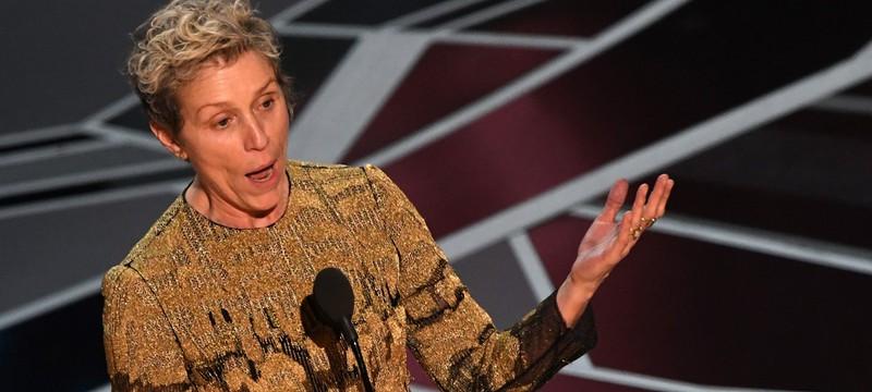 """У Фрэнсис Макдорманд пытались похитить """"Оскар"""""""