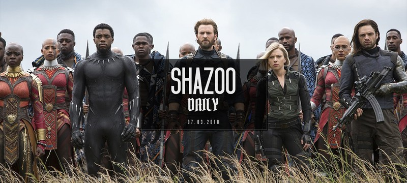 Shazoo Daily: на защите Ваканды