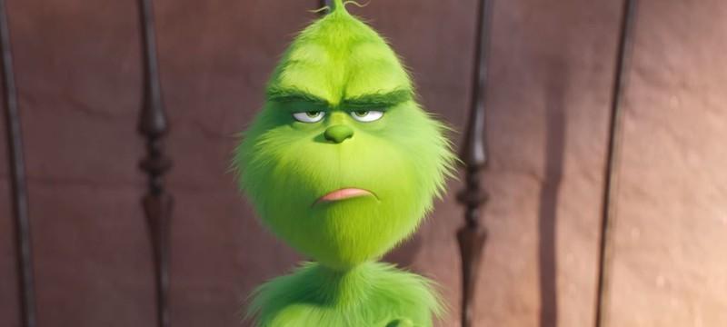 Зеленый Гринч-Камбербетч в трейлере The Grinch
