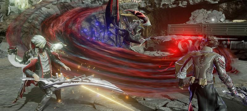 Новый геймплей Code Vein на PS4