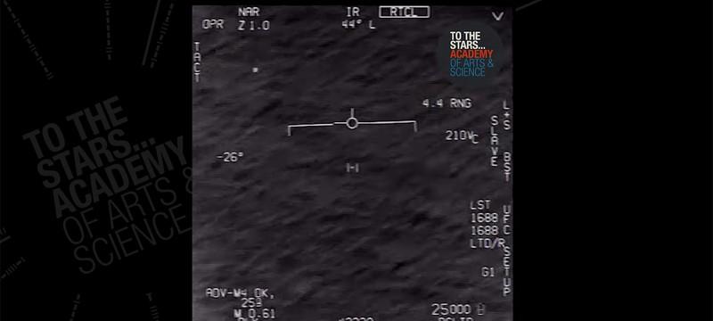 Запись НЛО от американских военных попала в сеть
