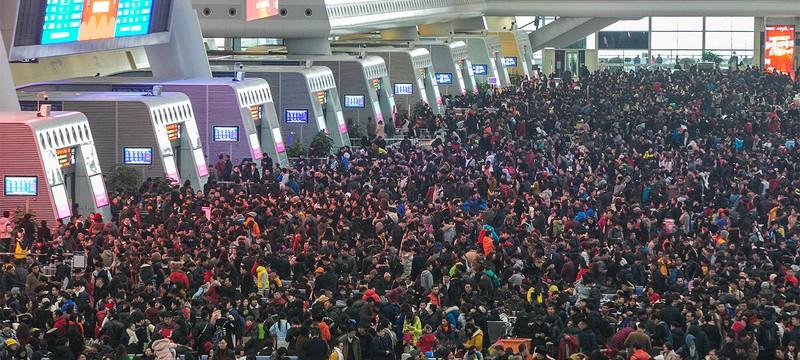 """Китай запретит людям с низким """"социальным кредитом"""" путешествовать"""