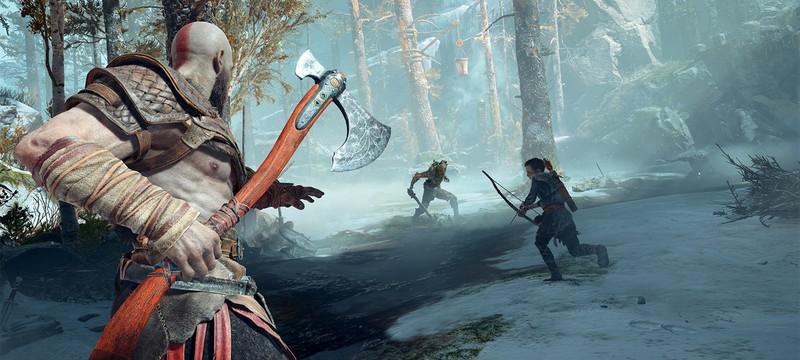 Восемь гифок God of War