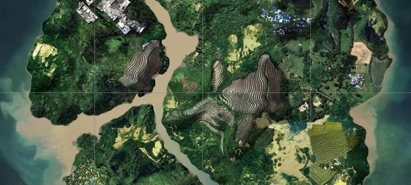 Первый взгляд на тропическую карту в PUBG
