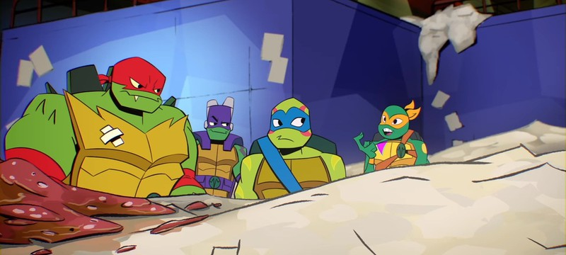 Тизер мультсериала Rise of The Teenage Mutant Ninja Turtles