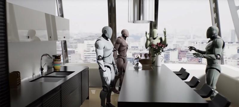 Технологическое демо трассировки лучей от Nvidia