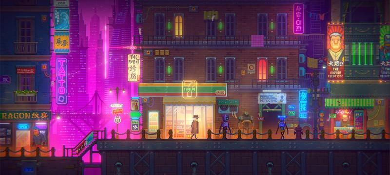 Трейлер Tales of the Neon Sea представляет красочный мир киберпанка