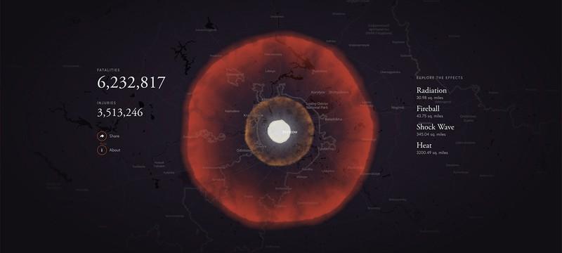 Взорвите ваш город в этом шикарном симуляторе атомных бомб