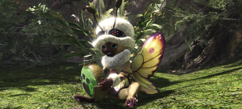 Скриншоты цветочного фестиваля в Monster Hunter: World