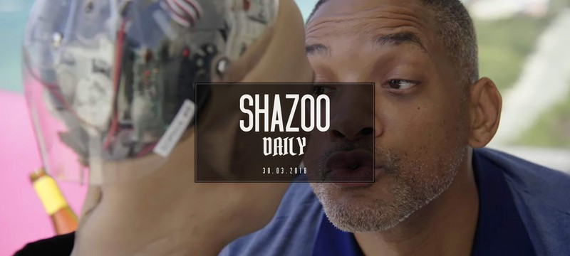 Shazoo Daily: Поцелуй меня, робот