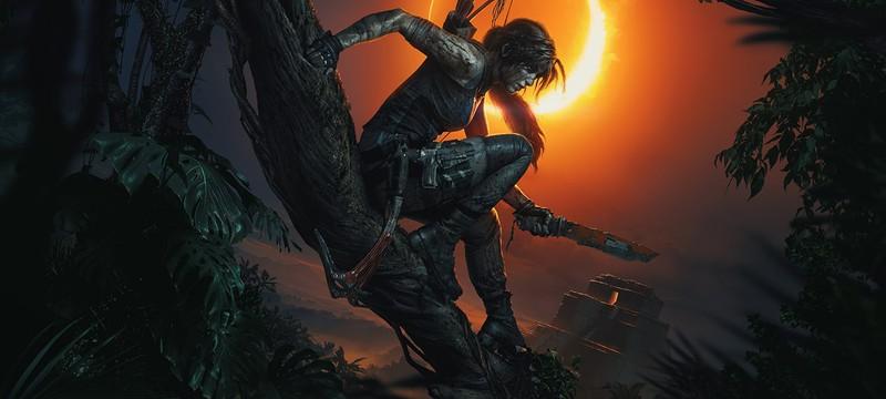 Лара Крофт выглядит так, как вы этого ждете на арте Shadow of the Tomb Raider