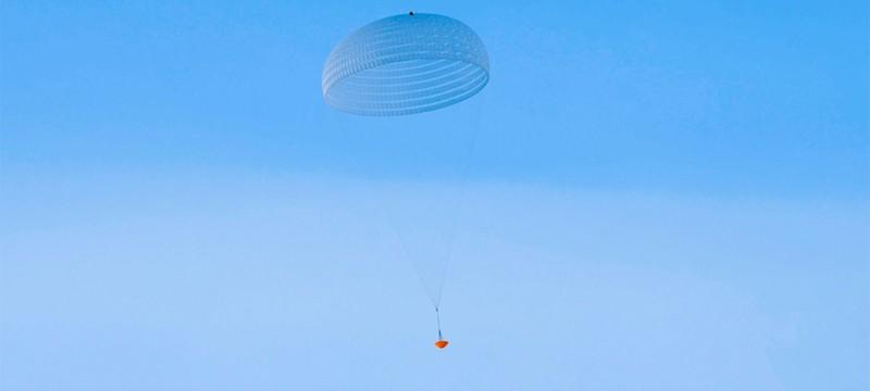 Европейское космическое агентство протестировало марсианский парашют