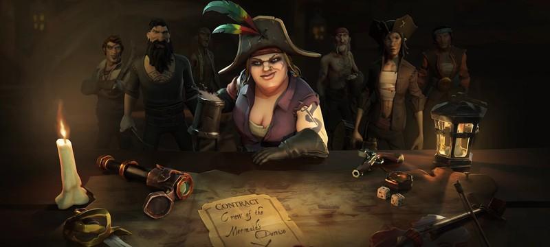 """Стример ответил на критику своего титула """"пиратской легенды"""" в Sea of Theives"""
