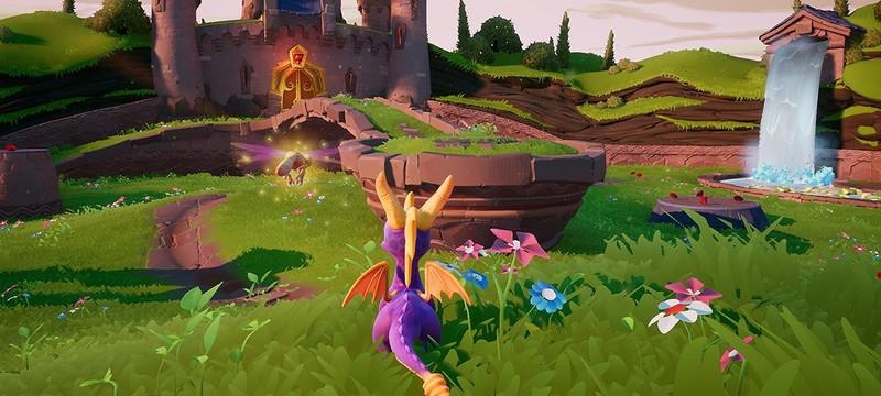 Первые скриншоты ремастеров Spyro, трилогия не будет эксклюзивом PS4