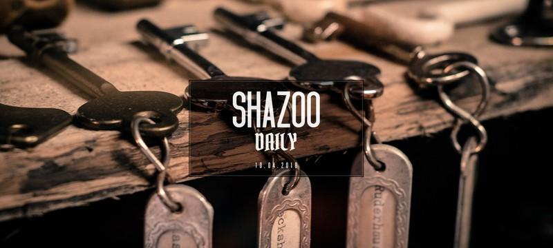 Shazoo Daily: Ключи от телеграма