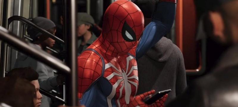 Первый взгляд на костюм Железного Паука в Spider-Man
